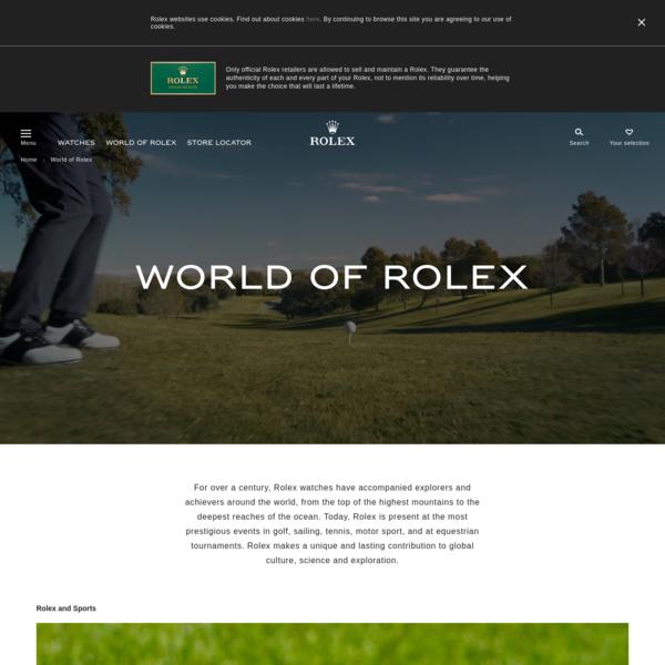 Discover more on Rolex.com