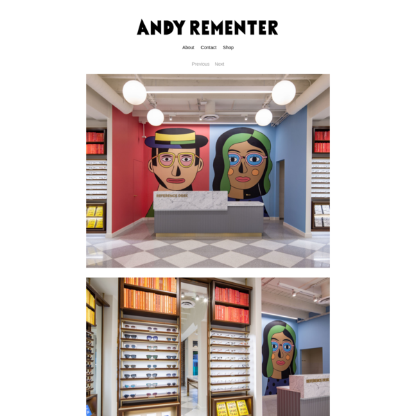Warby Parker / Dairy Block - Andy Rementer