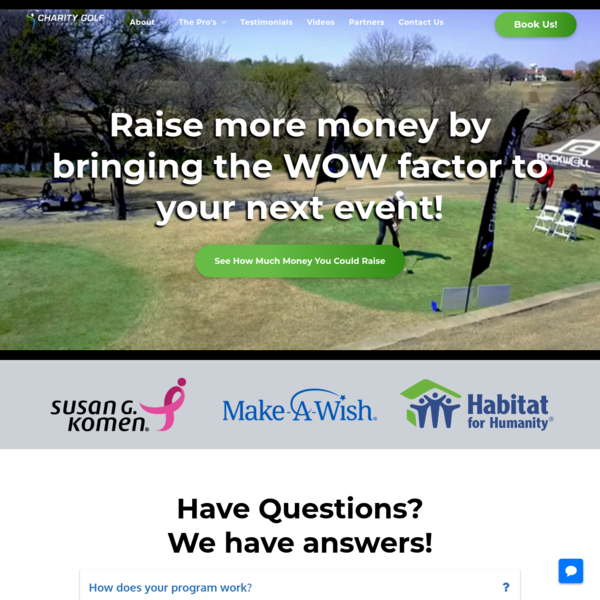Home | Charity Golf International