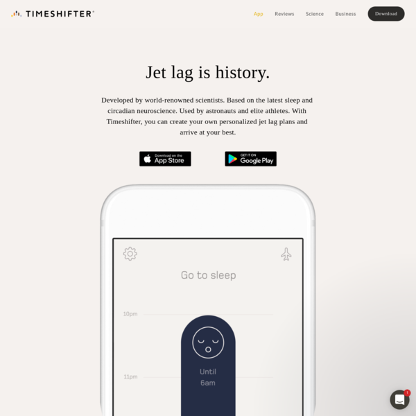 Timeshifter® - The Jet Lag App®