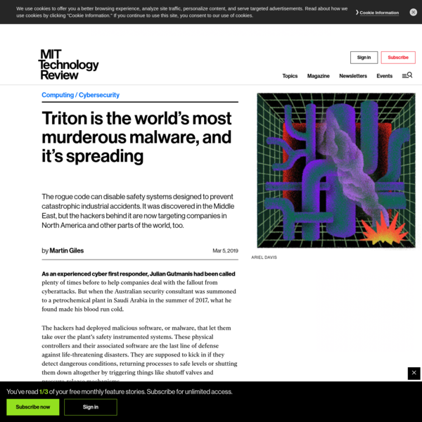 Triton is the world's most murderous malware, and it's spreading