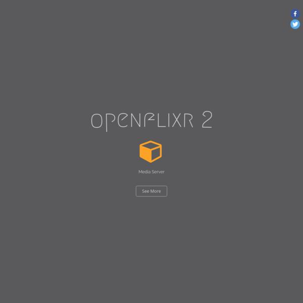 OpenFLIXR Media Server - all-in-one home server