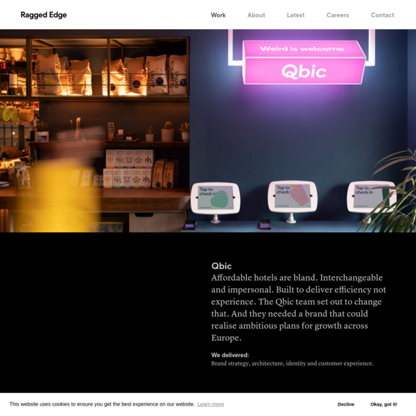 Affordable hotels are bland and impersonal. Qbic sets out to change that with a brand that 'welcomes character'.
