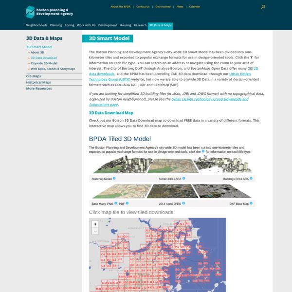 3D Data Download | Boston Planning & Development Agency