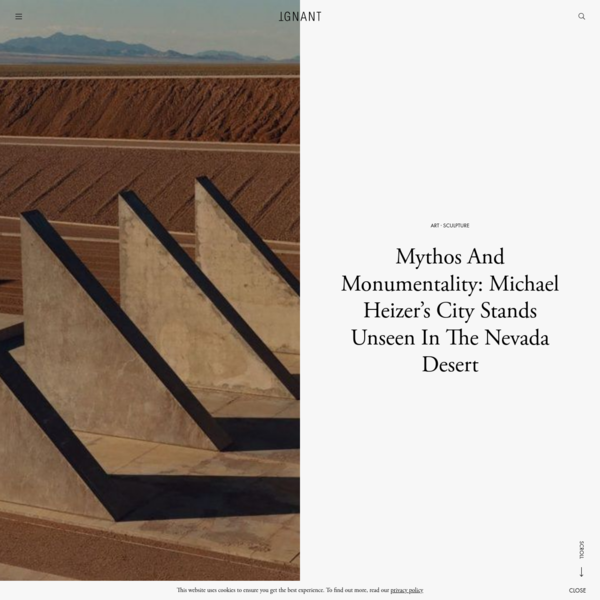 Mythos And Monumentality: Michael Heizer's City Stands Unseen In The Nevada Desert - IGNANT