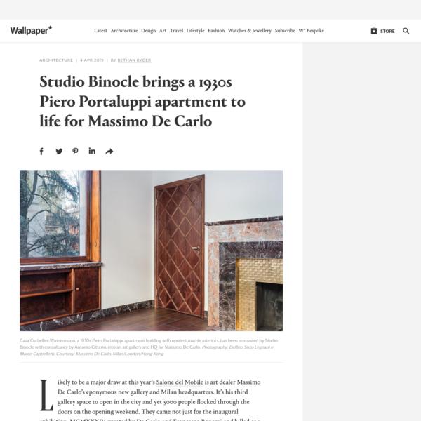 Studio Binocle renovates new Massimo De Carlo HQ in Milan | Wallpaper*