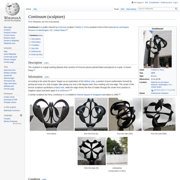 Continuum (sculpture) - Wikipedia