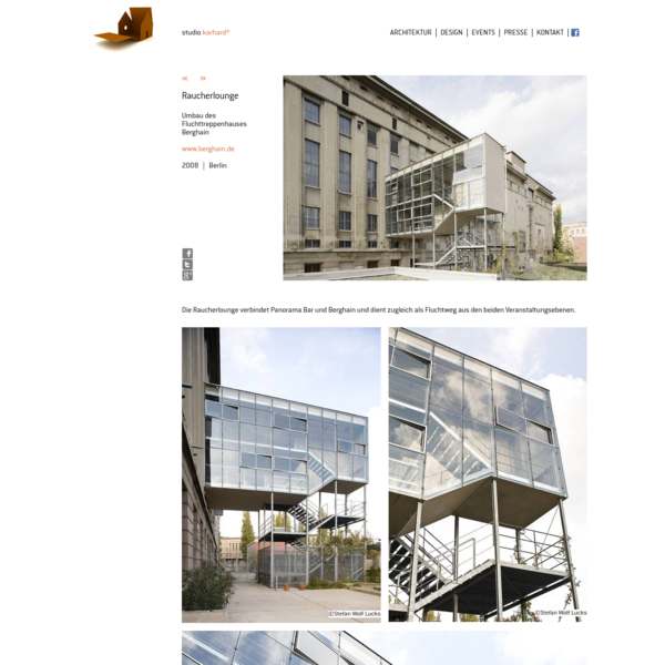 studio karhard: Raucherlounge