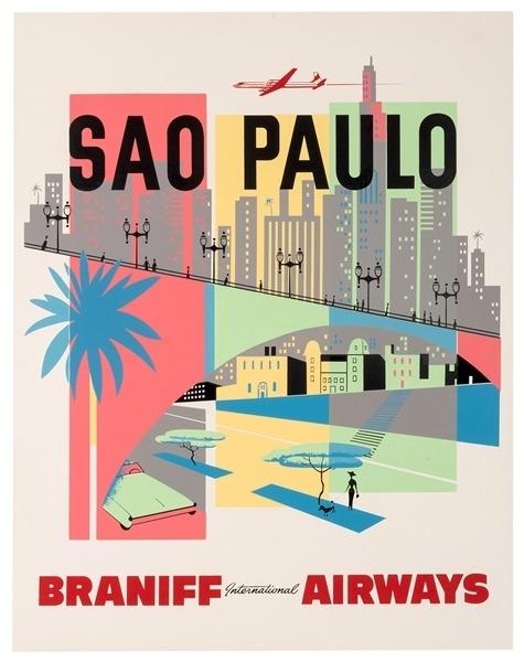 Sao Paolo - Braniff Airways
