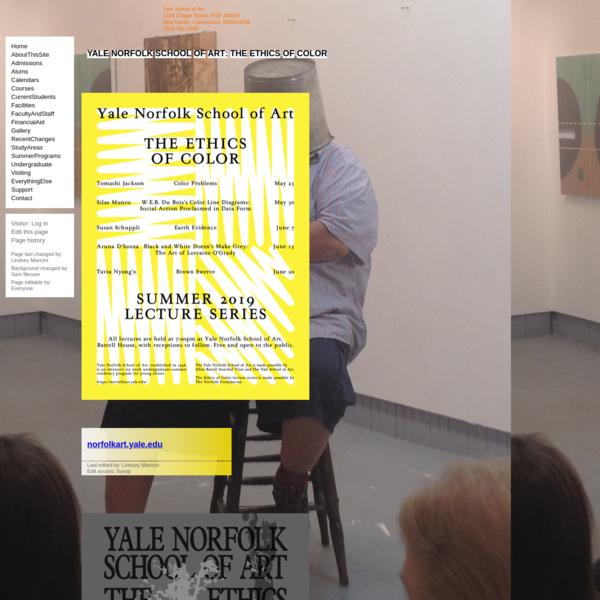 Yale University School of Art: Norfolk