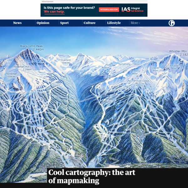 Cool cartography: the art of mapmaking