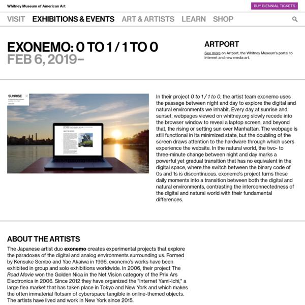 exonemo: 0 to 1 / 1 to 0