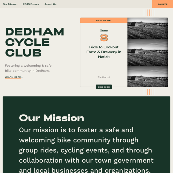 Dedham Cycle Club