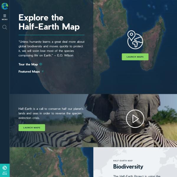 Explore Maps | Half-Earth