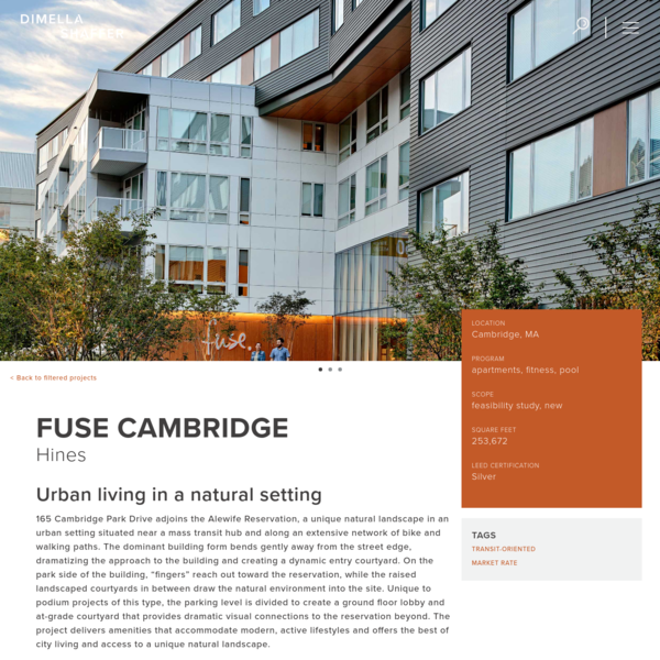 Fuse Cambridge | DiMella Shaffer