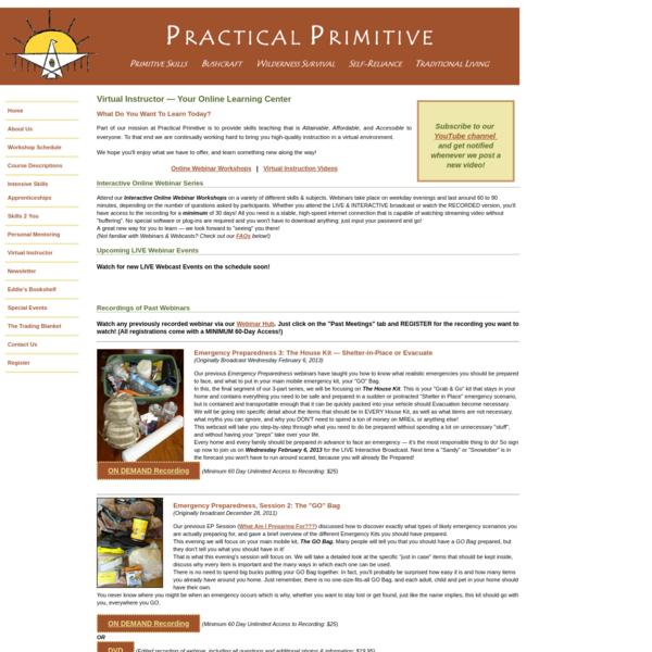 Practical Primitive | Virtual Instruction