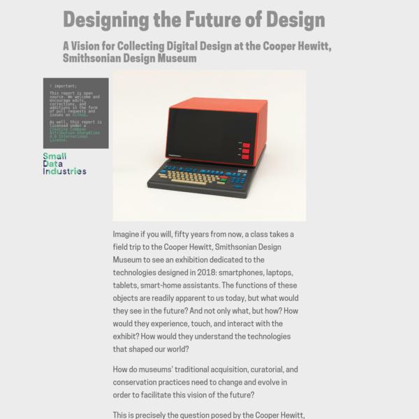 Designing The Future of Design