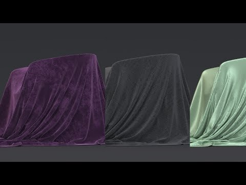 Arnold for 3ds Max | How to create Silk, Cotton, Velvet and other fabric shaders | Tutorial #112