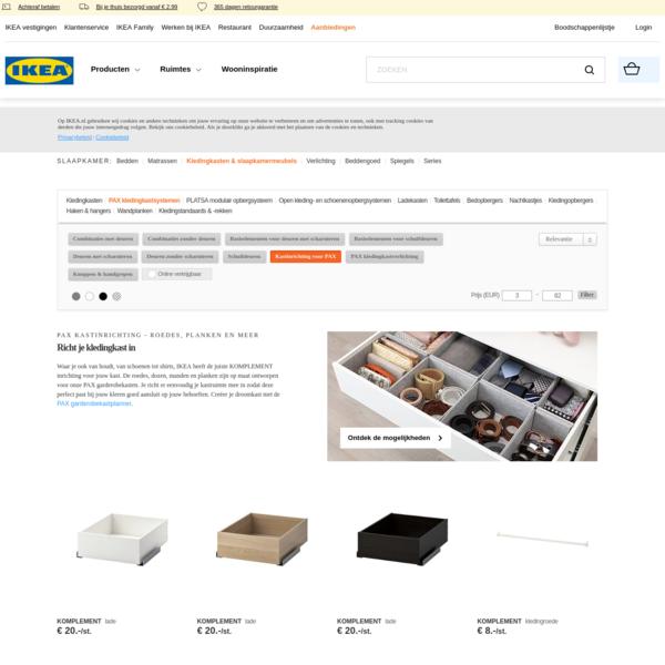 Kastinrichting l Bekijk alle PAX kastinrichting l IKEA