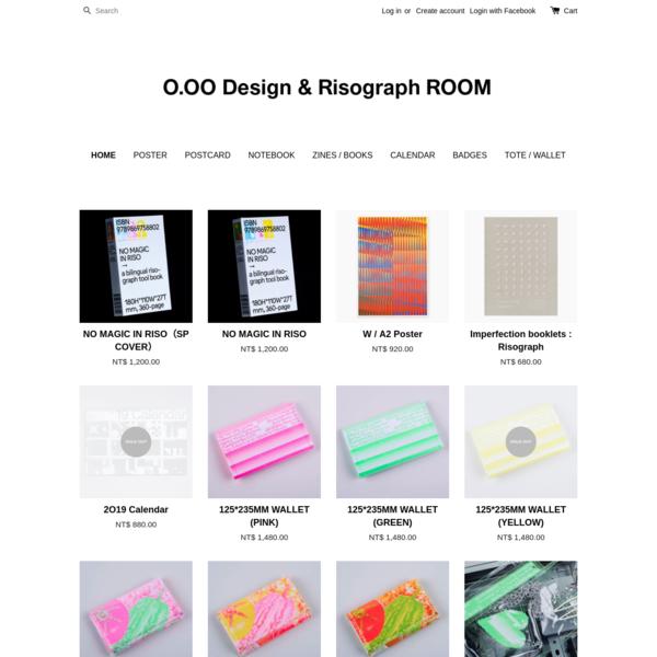 O.OO Risograph & Design ROOM