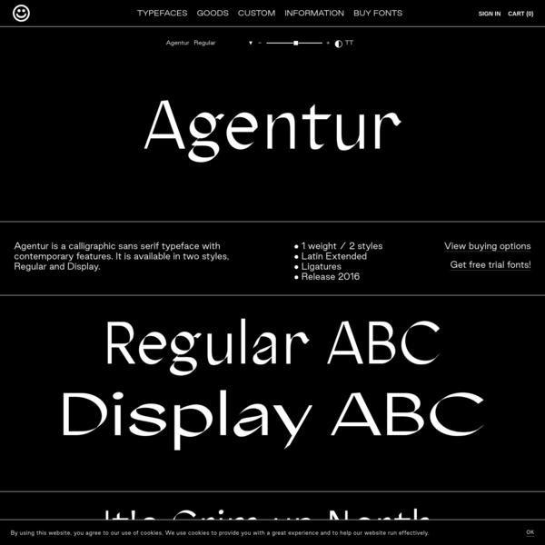 Agentur - Good Type Foundry