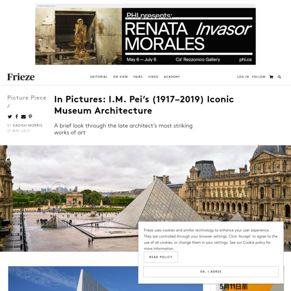 In Pictures: I.M. Pei's (1917-2019) Iconic Museum Architecture