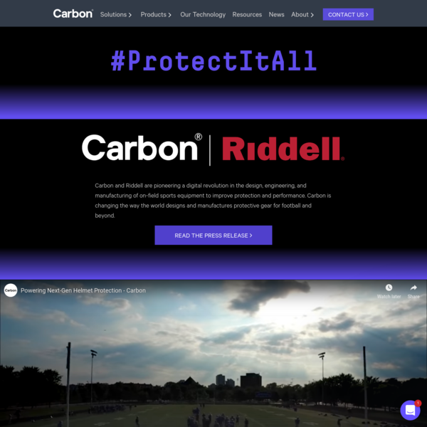 #ProtectItAll - Introducing Riddell® Diamond Technology powered by Carbon®