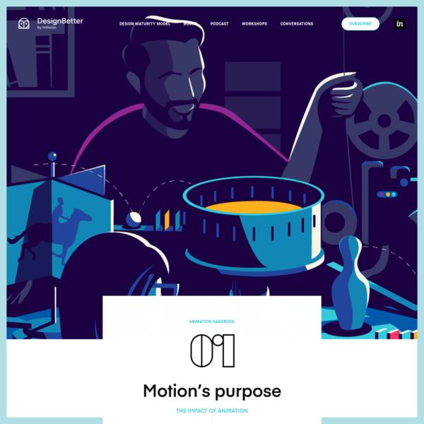 Animation Handbook | DesignBetter by InVision