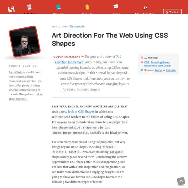 Art Direction For The Web Using CSS Shapes - Smashing Magazine