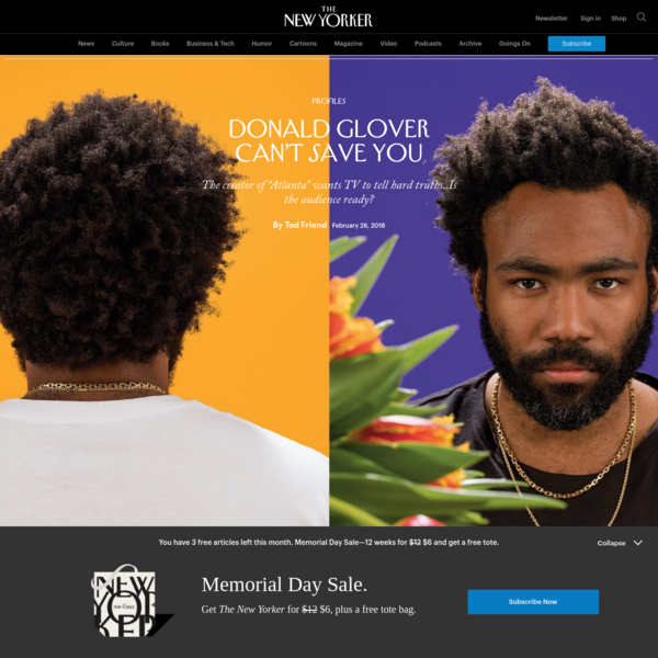 Donald Glover Can't Save You
