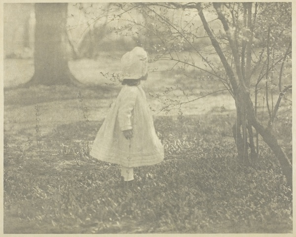 Alfred Stieglitz. Spring - The Child, 1901.