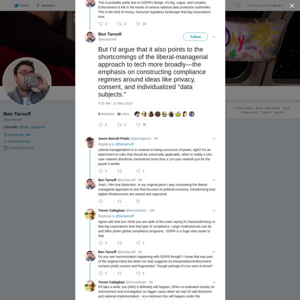 Ben Tarnoff on Twitter