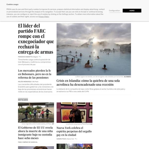EL PAÍS Edición América