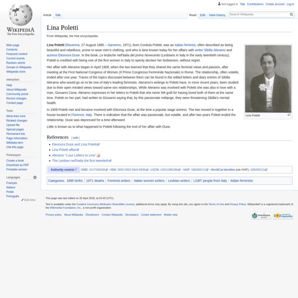 Lina Poletti - Wikipedia