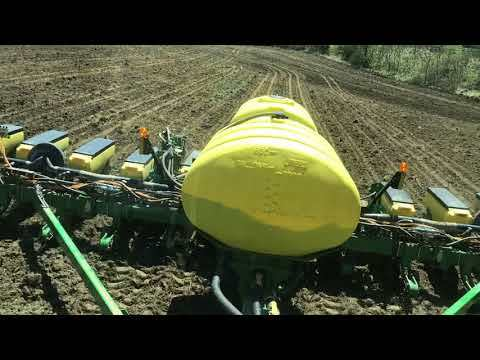 Planting corn using Climate Field View