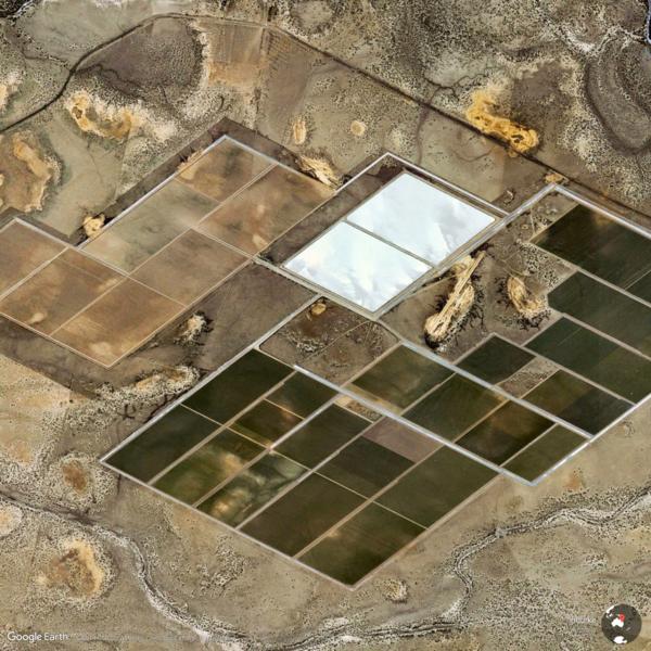 Bourke, Australia - Earth View from Google