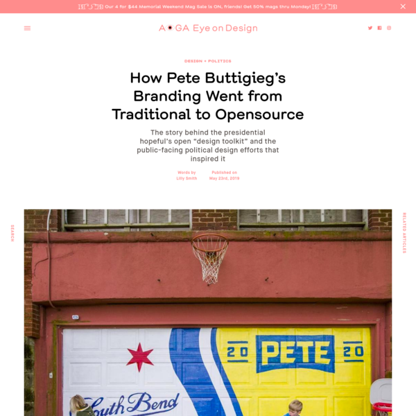 How Pete Buttigieg's Branding Went from Traditional to Opensource     Eye on Design