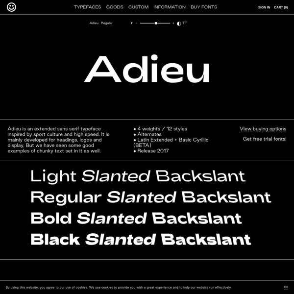 Adieu - Good Type Foundry