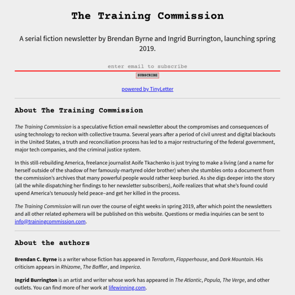 The Training Commission