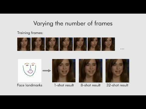 Few-Shot Adversarial Learning of Realistic Neural Talking Head Models