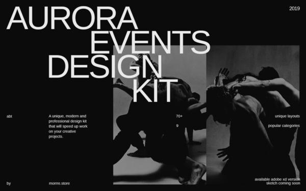 Aurora Events Design Kit