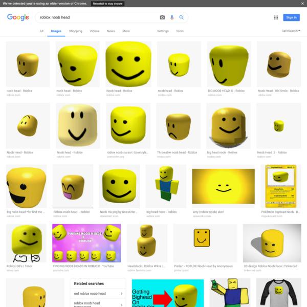 roblox noob head - Google Search