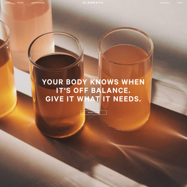 Elements Drinks