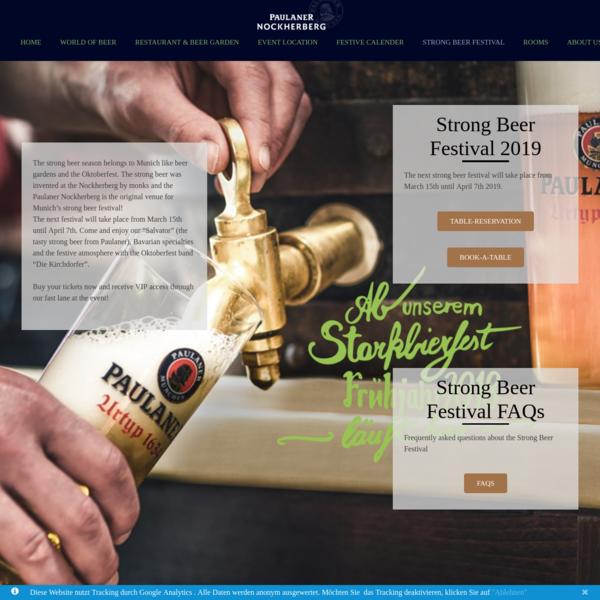 Strong Beer Festival - Paulaner-Nockherberg