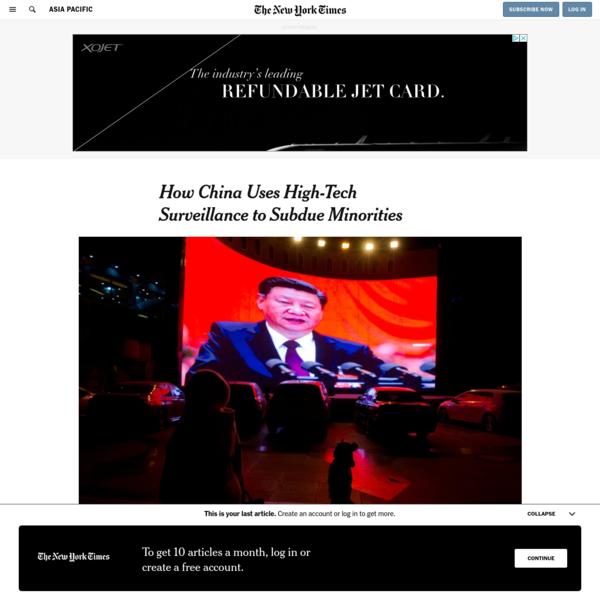 How China Uses High-Tech Surveillance to Subdue Minorities