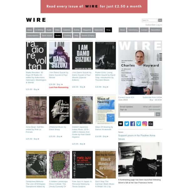 Books - The Wire Shop