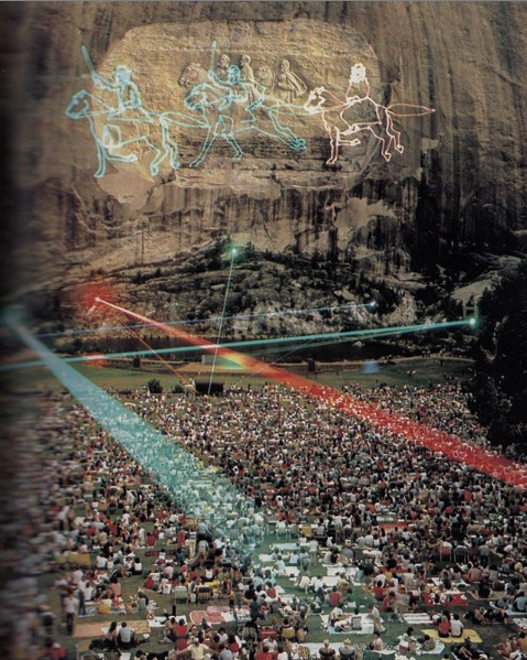 'Laser Festival' from National Geographic, March 1984