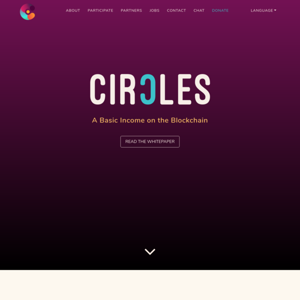 Circles - A Basic Income on the Blockchain