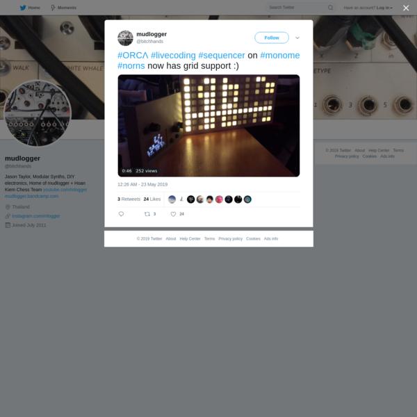 mudlogger on Twitter