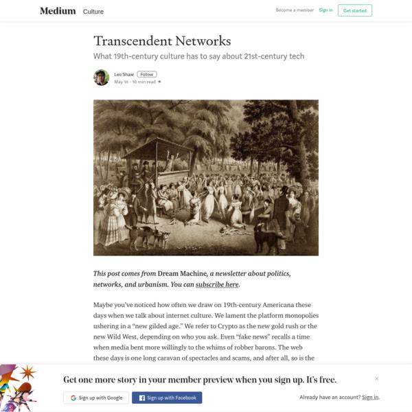 Transcendental Networks